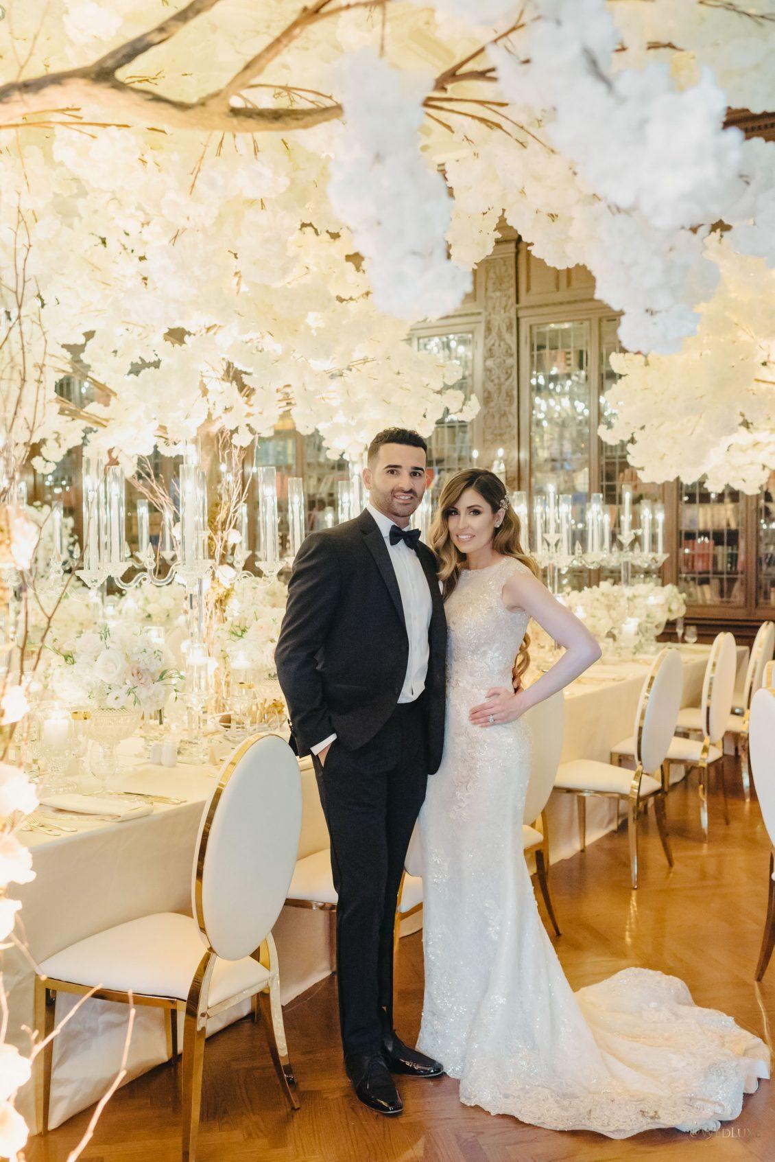 Ashley and Nazem Kadri Wedding Toronto Casa Loma Bliss Events