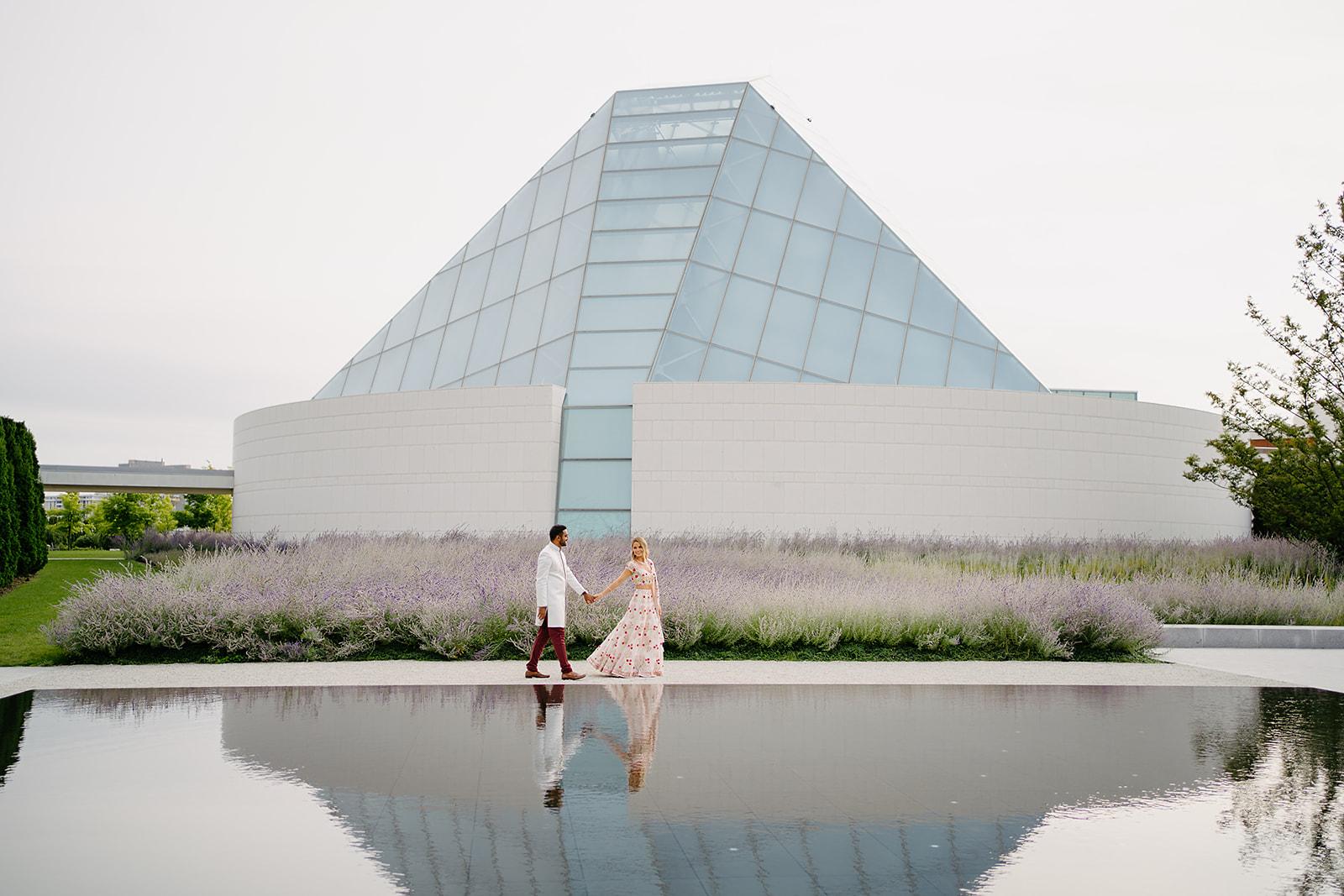 AGA Khan Museum: Daria and Shamez (1 of 2)